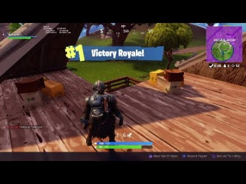 New Blockbusters Skin in Fornite battle royal (game play)