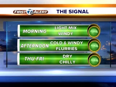 Colder day ahead
