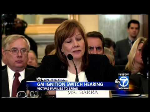 Mary Barra, CEO of General Motors, to appear before a House committee Wednesday over ignition switch