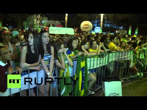 Brazil: Supporters reduced to tears by World Cup disaster