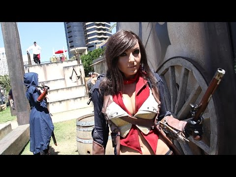 Jessica Nigri and Danger Dawn talk cosplay and Assassin's Creed