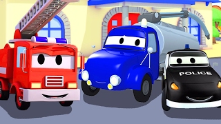 The Car Patrol with their friends the Tanker Truck & Jeremy
