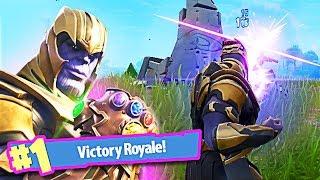 Fortnite THANOS Gameplay :: Fortnite Battle Royale :: Thanos in Fortnite