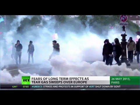 Human Rights Suppression: Tear gas EU's tool to quell civil unrest?