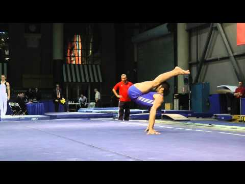 Danell Leyva - Floor Exercise - 2012 Winter Cup Prelims