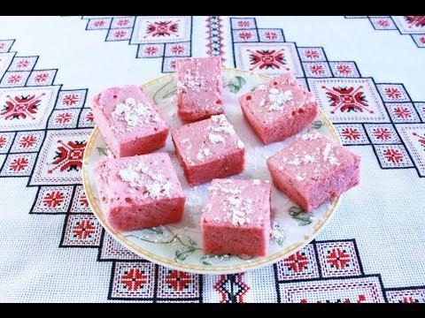 Рахат лукум рецепт из клубники в домашних условиях Rahat lokum Як приготувати рахат лукум з полуниці