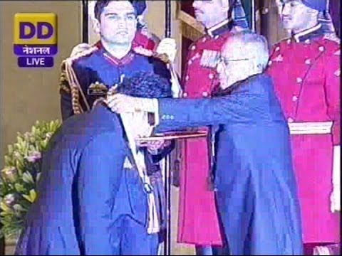 Sachin Tendulkar and CNR Rao conferred Bharat Ratna