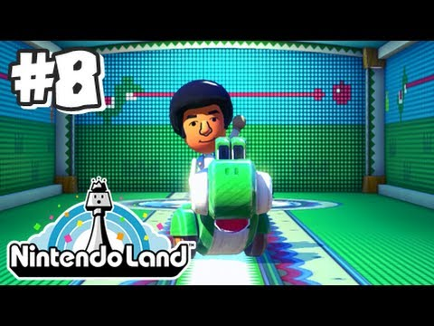 Nintendo Land Wii U - Part 8 - Yoshi's Fruit Cart