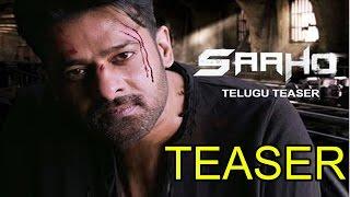 Saaho Official Telugu Teaser || Prabhas || Sujeeth