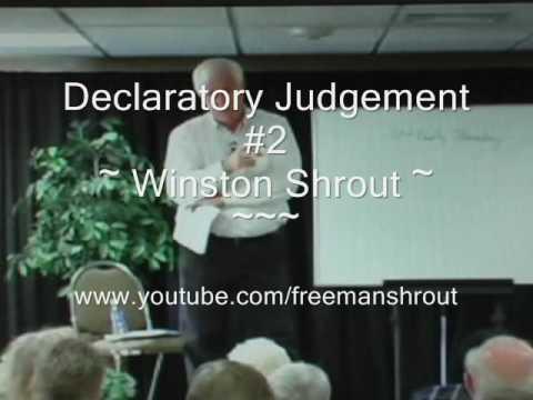Declaratory Judgement Winston Shrout 2