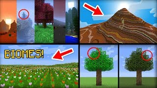 ✔ Minecraft: 20 Things You Didn't Know About Biomes