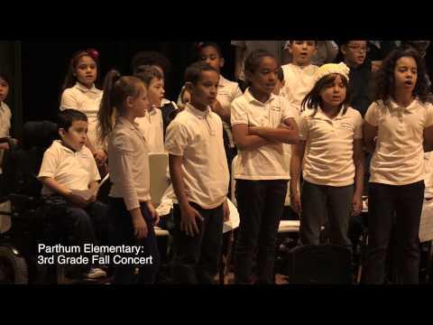 Parthum 3rd Grade Fall Concert
