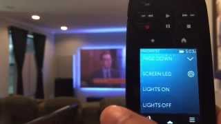 Lutron Caseta Wireless and Logitech Harmony Home Ultimate Integration