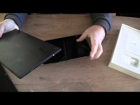 ipad air compared to Xperia Tablet Z and Samsung Note 10.1