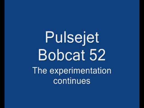 Pulsejet-powered Bobcat RC plane (episode 2)