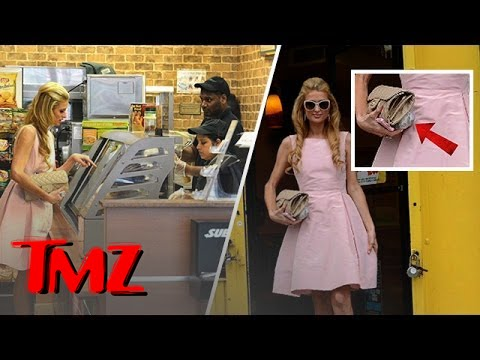 Paris Hilton's Foot Long Fashion Faux Pas!
