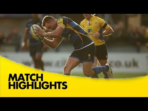 Worcester Warriors Vs Newcastle Falcons - Aviva Premiership 2015/16 | Rugby Video Highlights