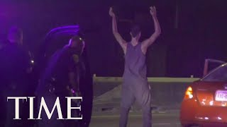 Police Dog Bites Man Who Started Dancing After Leading Officers On A 20-Mile Chase | TIME