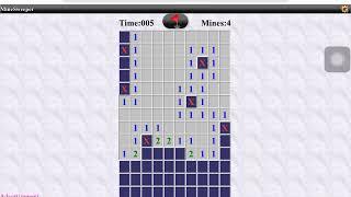 Minesweeper plus Tetris
