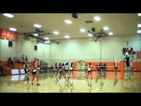 Molly Holloway #9 MB Saint Joseph High School Volleyball Lakewood