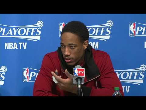 Raptors Post-Game: DeRozan and Lowry