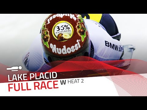 Lake Placid | BMW IBSF World Cup 2017/2018 - Women's Skeleton Heat 2 | IBSF Official