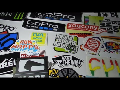 Free Stickers Collection 2015 ( nike , globe , zippo , monster energy ..... )