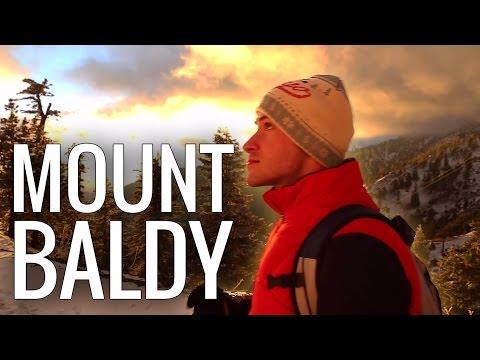 Hiking Mt. Baldy | Winter Blizzard Mountain Climbing on Mount San Antonio near Los Angeles