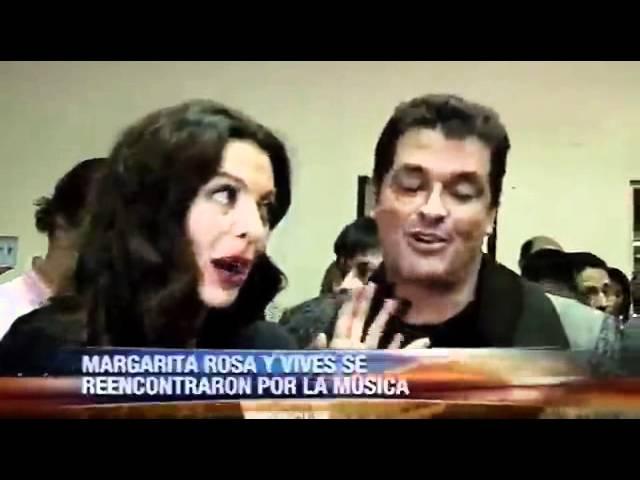 Margarita Rosa de Francisco y Carlos Vives Reencuentro 2011