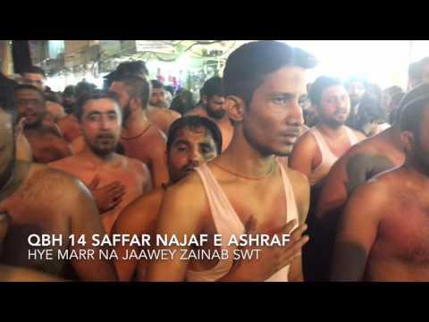 QBH NAJaf e ashraf 14 SAFFAR 1437 PART 2