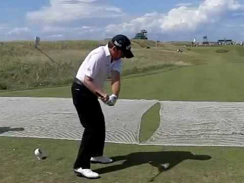 Graeme McDowell Slow Motion Swing