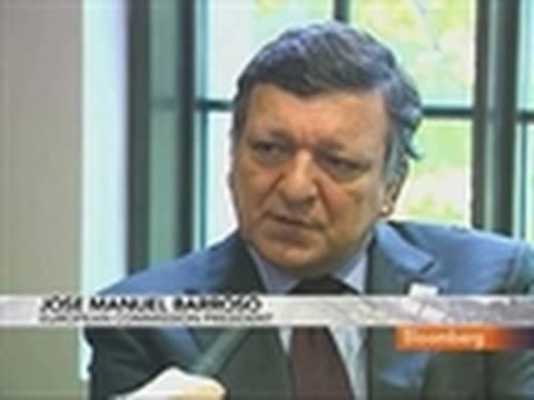 Barroso Says the EU's Economic Fundamentals `Are Good': Video