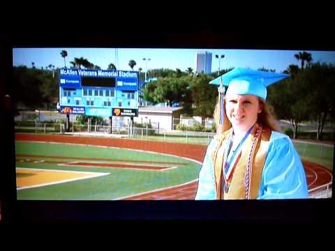 Tricia Terry is the 2009 mcallen, TX Memorial High School Valedictorian.