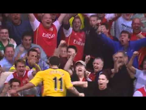 Robin Van Persie a great goal at Arsenal