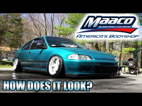 MAACO PAINT JOB: 1 MONTH REVIEW!