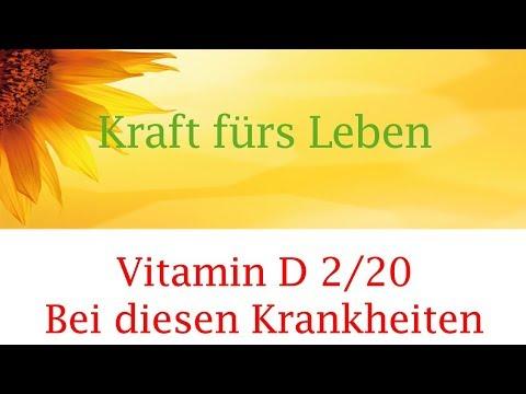 Vitamin D (Video 2):  Bei diesen Krankheiten gibt es Zusammenhang mit Vitamin D Mangel