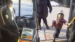 Bus Driver Gives 4-Year-Old Bestie a Sweet Gift on His Last Day of Route