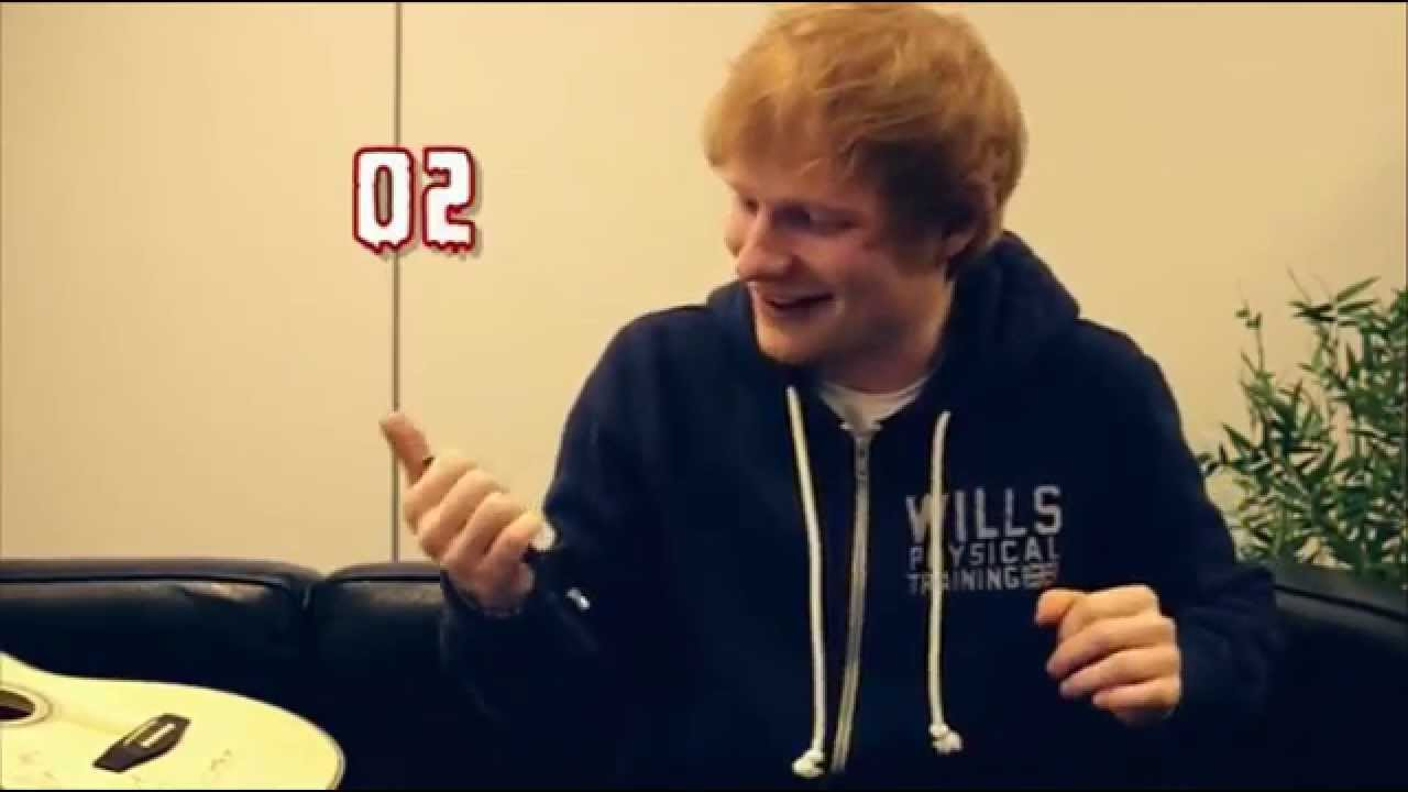 Ed Sheeran Give Me Love Captured In The Live Room You Need Me I Don T Live Room Living Room Ed
