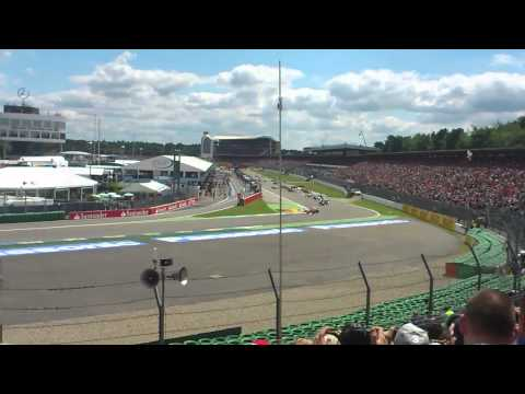 Start Formula 1 Grand Prix Hockenheim 2012 @ Nord C Tribune