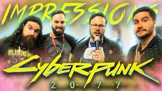 Cyberpunk 2077 Exclusive Gameplay IMPRESSIONS!! #E32019