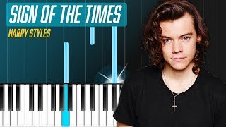 "Harry Styles - ""Sign Of The Times"" Piano Tutorial - Chords - How To Play - Cover"