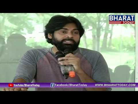 Janasena Chief Pawan Kalyan Speech At Rushikonda | AP Land Expats Meeting | Bharat Today
