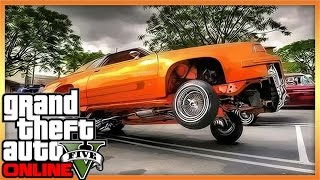 GTA 5 Car Customization - Hydraulics & Modded Cars (GTA V)