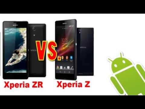 Sony Xperia Z VS Sony Xperia ZR // Comparativa // Características