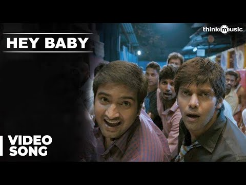 Hey Baby Official Video Song - Raja Rani | Feat Gaana Bala