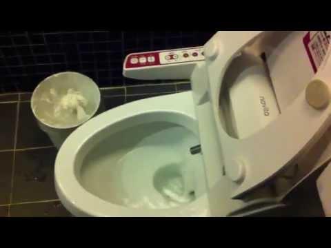 Toilette Coréenne