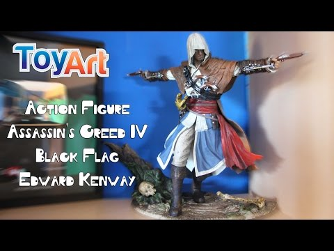 TOYART - ACTION FIGURE - ASSASSIN'S CREED IV BLACK FLAG - EDWARD KENWAY