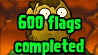 600 Flags PvZ Plants vs Zombies iPhone Last Stand Endless