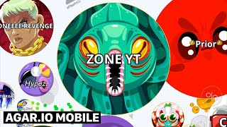 ZONE ? AGARIO MOBILE SOLO TAKEOVER IN PARTY MODE