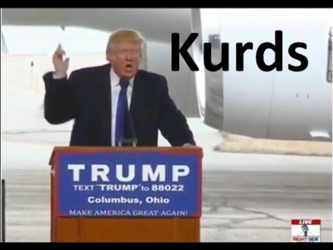 Donald Trump- Plans –regarding the KURDS, and how to defeat ISIS